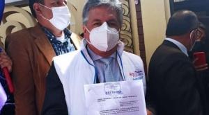 Órgano Electoral habilita a Luis Larrea como candidato a alcalde de La Paz