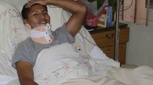 Erwin Tumiri, superviviente de accidente de LaMia, sobrevive a otro hecho fatal