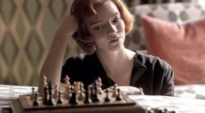 """""""Gambito de dama"""" y las aficiones exaltantes"""