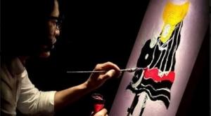 Alegoría de Noche de Guto Ajayu inspira en el viejo continente