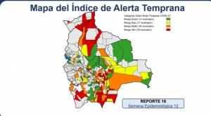 Municipios con riesgo alto de contagio de Covid-19 aumentan de 34 a 38
