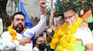 Los exalcaldes Óscar Montes y Álvaro Ruiz van por la silla de la Gobernación de Tarija
