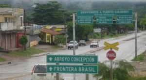En Puerto Quijarro realizan un bloqueo para apertura de la frontera al igual que en Cobija