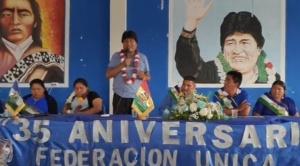 """Morales dice que resultados del balotaje, para el MAS, dejan """"mucho que desear"""""""