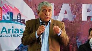 Arias expresa preocupación por el estado financiero que Revilla le deja para iniciar su gestión