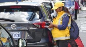 Alcaldía paceña suspenderá el servicio de estacionamiento municipal desde el 1 de mayo