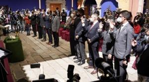 Arias anuncia la creación de un consejo de exalcaldes paceños y otro de ciudadanos notables