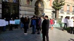 Trabajadores municipales inician paro de actividades para exigir estabilidad laboral