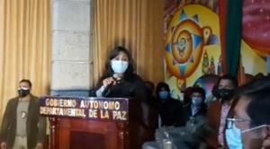 Maritza Huarachi es la nueva directora del Sedes de La Paz 1
