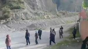 El subalcalde del Sur logró la pacificación en Valle de Irpavi 1