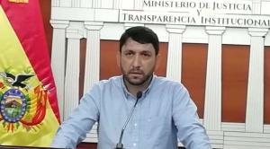 Aprehenden al exviceministro Guido Melgar por solicitar datos al Segip