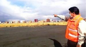 Tras demolición de edificio, normalizan uso de pista del aeropuerto de El Alto y notifican por otras 2 obras