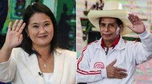 Incertidumbre en Perú: encuesta a boca de urna vaticina un escenario reñido entre Keiko y Castillo 1