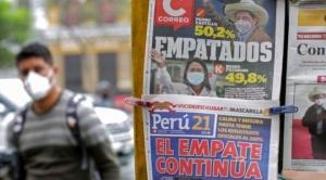 Tres claves que explican por qué sigue tan ajustada la carrera por la presidencia de Perú entre Castillo y Keiko