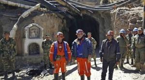 El Ejército vigilará la producción de estaño y alejará ladrones en la mina Huanuni