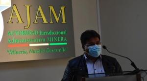 """Exjurídico de la AJAM La Paz es aprehendido por un supuesto """"rechazo ilegal"""" a solicitud minera"""
