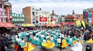 Alcaldesa de El Alto autoriza la entrada folclórica de la zona 16 de julio pese a la pandemia del Covid-19