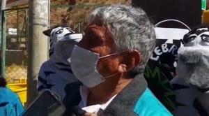 Arias destaca desescalada de contagios en La Paz