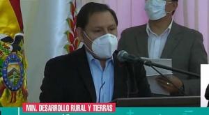 INRA no asistirá a una reunión convocada por Camacho en el tema de tierras
