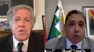 Mira el debate Almagro versus Arce en el Consejo Permanente de la OEA