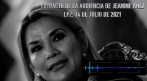Justicia vuelve a negar el cese de la detención preventiva de Añez