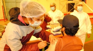 Municipio de La Paz, líder en promedio de vacunados en el ámbito nacional