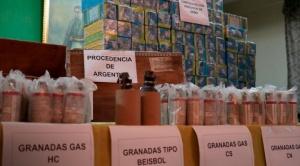 """Aparece un """"informe interno"""" de la Policía referido a la entrega de """"material bélico"""" argentino"""