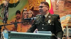 Aguilera admite que hay un informe que niega la existencia de pertrechos argentinos en la Policía