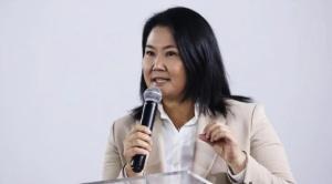 """Keiko Fujimori: """"Voy a reconocer los resultados porque es lo que manda la ley"""""""