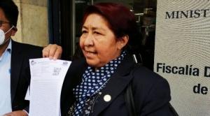 Viceministra que denunció a Quelca es procesada por uso de influencias