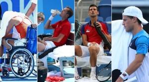 El comunicado oficial de la ITF ante las polémicas por el sofocante calor en el tenis olímpico