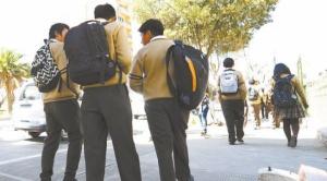 La clases semipresenciales comenzarán en cinco distritos de El Alto y en las periferias de La Paz
