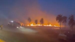 Incendio en Viru Viru afectó a 27 vuelos y 2.600 pasajeros