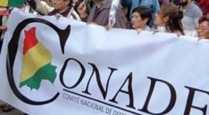 CONADE llama a la ciudadanía a la movilización por el cierre del caso fraude electoral 1