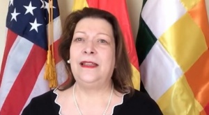 Encargada de negocios de EEUU sobre la justicia en Bolivia: Tiene que ser creíble y transparente