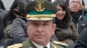 La Policía da baja definitiva al general Yuri Calderón por el motín de 2019