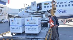 Llega un nuevo lote de 30.000 segundas dosis de la vacuna Sputnik V