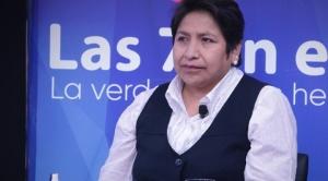 """Vocal Chuquimia afirma que """"no correspondía"""" al TSE la entrega de un credencial a Añez"""