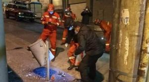 Minuto a minuto: La fuerte explosión en cercanías a la Alcaldía deja al menos dos heridos