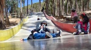 Los parques municipales de La Paz ofrecen desde parvularios hasta pistas skate