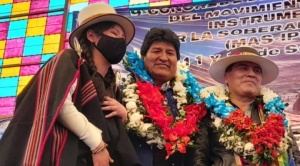 "Evo acusa al Comité Pro Santa Cruz de ""utilizar"" a la marcha indígena"