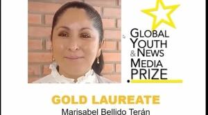 Profesora boliviana gana premio internacional a la libertad de expresión