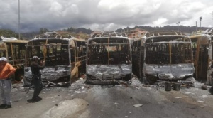 Buses PumaKatari quemados serán restituidos en primer trimestre de 2022