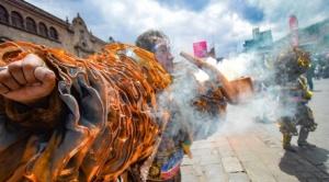 Caporalazo: Danzarines toman el centro paceño y las bandas de música retumban la ciudad