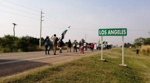 Anuncian que Arce participará en un acto en San Julián, a pocos kilómetros de la marcha