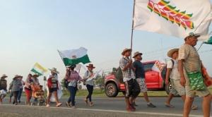 Indígenas convocan a los cuatro poderes del Estado para exponer su pliego 1