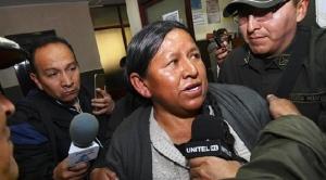 Dos hijas de  Nemesia Achacollo trabajan en el Estado