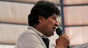 """Morales se estrella contra la portavoz de la UE por el comunicado que descarta el """"golpe de Estado"""""""