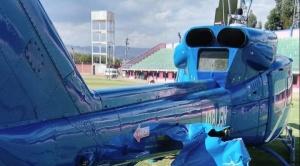 DGAC investiga la causa del incidente que sufrió helicóptero que trasladaba a Evo Morales