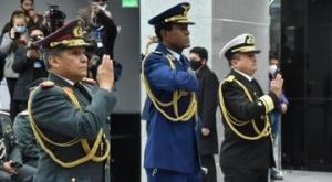 Arce demanda disciplina a las FFAA; nuevo Comandante dice que la fortalecerá